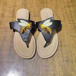 NWOB J Republic Bumblebee Sandals
